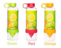 Lemon bottle fruit Juicer Sport Cup Health water bottle