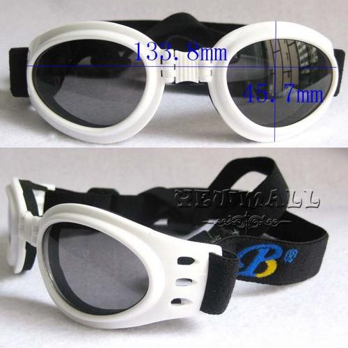 Sunglasses Portable Cool Pet Dog UV Goggles Sunglasses BP-2004 M Size 133.8mm*45.7mm 10pcs Eye Wear Protection Pet Dog Supplies(China (Mainland))