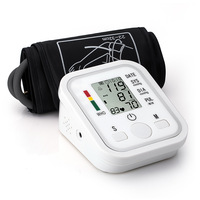 Arm Automatic Digital Blood Pressure and Pulse Monitor LCD heart beat  home electric arm sphygmomanometer,Free Shipping