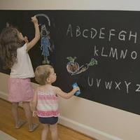 CPP green sticker 45cm * 200cm blackboard teaching children chalk drawing them off removable wall stickers