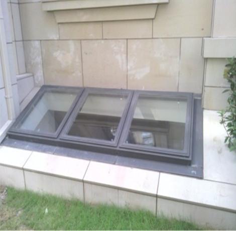 Underground lighting window aluminum welded aluminum combination windows sunroof glass piece waterproof roof(China (Mainland))