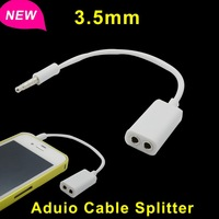 Jack 3.5 mm to Dual 3.5mm Cable male to Female Audio cables Splitter adapter cabo kabel Plug Stereo speaker earphone headphone