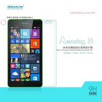 Original NILLKIN Amazing H Nano Anti-burst Tempered Glass Screen Protector Film For Microsoft Lumia 535 Nokia 1090+Free shipping