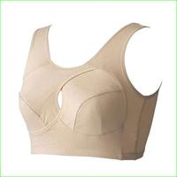 YB01 Yoga cotton bra seamless sports full cup bra women lady's sleep bra