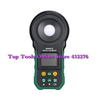 Mastech MS6612 Digital Luxmeter Illuminometer Light Meter Foot Candle Auto Range Peak 200000 Lux