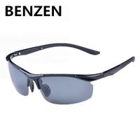 2015 Sunglasses Men Polarized  Oculos De Sol Masculino Sports Goggle Gafas CiclismoTR 90 Driving Sun Glasses With Case 9019