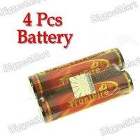 4 Pcs TrustFire 18650 3000mAh 3.7V Protected Li-ion Rechargeable Batteries
