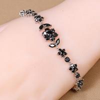 B-0029, Bracelets pulsera oso make rubber band bracelet Bijoux jewelry with zircom fashion Bracelet for women Wholesale price