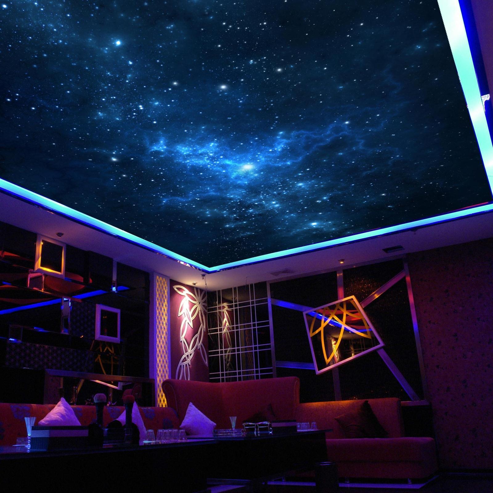 Fondos de pantalla del cielo nocturno compra lotes for Ceiling mural in a smoker s lounge