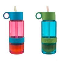 Kids vibrant lemon bottle with straw Lemon Cup Children water bottle Gift