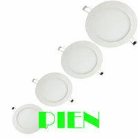 LED Panel 18W 15W 12W 9W 6W 4W 3W spot ceiling lampara luces warm white 4000k round 2835smd ultrathin 110V-240V by DHL 20pcs
