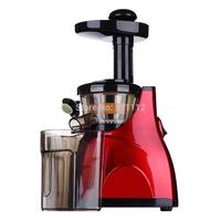 Red colour electric slow juicer fruit juicer extractor slow juicer machine