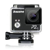 Original Dazzne P2 like SJ4000 Action Camera Diving 20M Waterproof Sport Camera 1080P Full HD Car DVRs Gopro Camera Style OSD