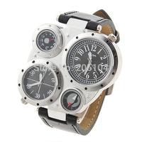 Hot Luxury brand watch men sport  watches hour fashion leather quartz watch top quality compass men's watch relogio masculino