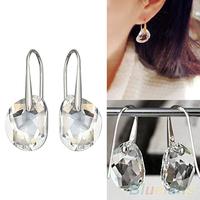 Hot Fashion Women's Earrings Crystal Rhinestone Hook Earrings Ear Stud