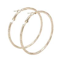 2015 new Christmas Gift Women Men Hoop Earrings Gold Plated Jewelry Earrings Wholesale