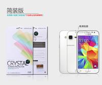 Original Nillkin LCD CRYSTAL Anti - fingerprint Screen protector film For Samsung Galaxy Core Prime G360 Free shipping