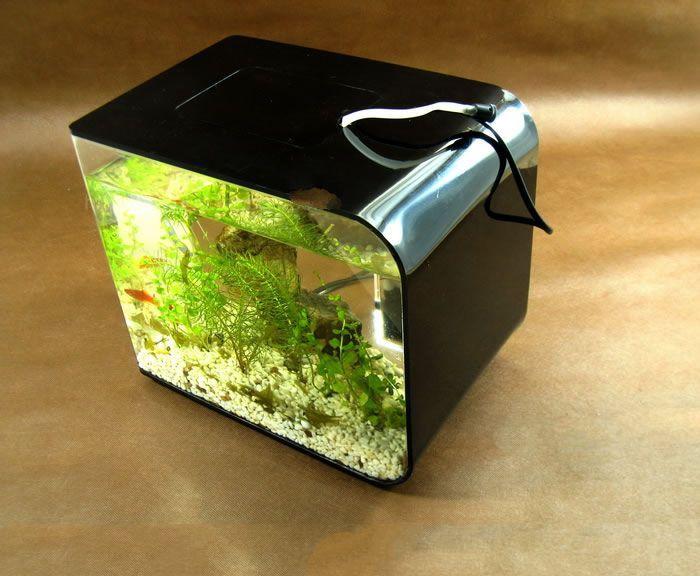 Mini Independent Type Medium Ecological Acrylic Fish Tank