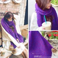 Women Purple Shawl Wrap Cape Oversized Soft Oversized Plaid Blanket Scarf 35