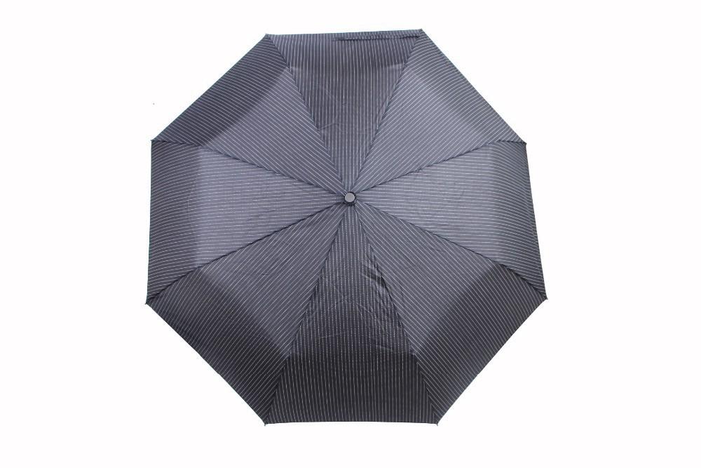 Fully-automatic umbrella men umbrella men high quality folding umbrella classic trip and check design 3091(China (Mainland))