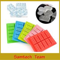 FDA LFGB Ice Mold Silicone Ice Cube Tray Brick Block Quality Product Ice Tray Mold Weirdland Top Quality