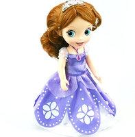 Newest 2014 Princess Sofia Girls Toys Vinyl Doll Toys Kids Toys Free Shipping Christmas Cartoon Dolls Kids Girls Juguetes KT071