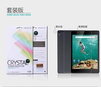 Original Nillkin LCD CRYSTAL Anti - fingerprint Screen protector film For Google Nexus 9 Free shipping
