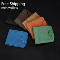 Free Shipping!New High Quality Men Wallet Genuine Leather Fashion Design Large Capacity Men Purses Wallets