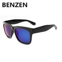 2015 Sunglasses Unisex  Polarized  Oculos De Sol Masculino  Retro Steampunk Sun Glasses Gafas De Sol With Case 9019