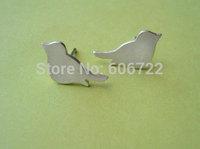 Aliexpress Wholesale Zinc Alloy Animal Bird Silhouette Stud Earrings Jewelry For Women