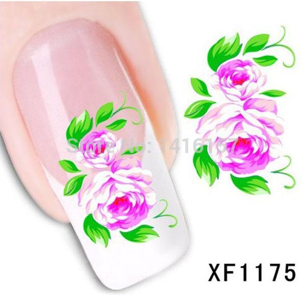 Наклейки для ногтей Fashion-style  XF1175