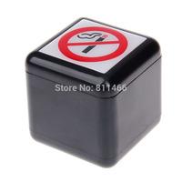 5.6 * 5.6* 5.6 CM Practical  Ashtray Fashion Popular Creative zine alloy Ashtray no-smoking mark-C200087