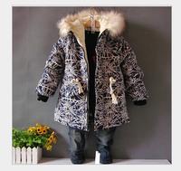 children's clothing wholesale manufacturers selling children's girl clip cotton jacket cotton
