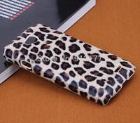 Brown Leopard Hard Case Cover Skin for LG Optimus L70 D320 D320N Case