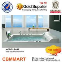 massage bathtub with tv, bathtub for two person