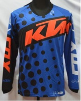 Free Shipping 2014 Latest KTM cross country mountain T-shirts Downhill cycling perspiration wicking T-shirt