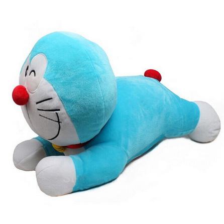 50 см аниме мультфильм Doraemon плюшевые подушки классический мультфильм Doraemon плюшевые игрушки подарок для детей