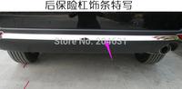 High quality rear insurance trim bumper protector bar for 2013 2014 SUBARU Forester