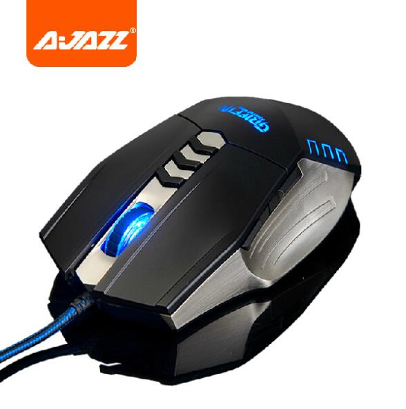 original AJAZZ Griffin Professional ergonomic usb magic 4000 dpi 8d optical Gaming Mouse 8 buttons para jogos gamer led mice(China (Mainland))