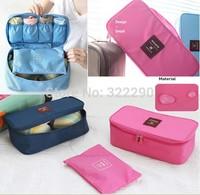 2014 New Travel bra case Lingerie Underwear pouch storage bag organizer wash bag free shipping!!