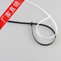 "500pcs  Black/white CABLE TIES  200 mm(8"") x 5 mm ZIP TIE  Zip Ties Self Locking Nylon Cable tie"