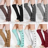 godbead Women Crochet Knitted stocking Leg Warmers Boot Cover Lace Trim Legging Socks