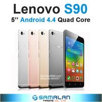 "New Original Lenovo Sisley S90 Qualcomm Quad Core Cell Phones 5"" Super AMOLED Android 4.4 Dual SIM 13.0MP Camera Support LTE GPS"