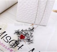 Vampire Diaries Deliberate Diaries  sacre coeur cross necklace