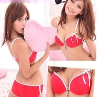 Trendy Women Push Up Bra Underwear Padded Bra Lingerie+Knicker Boost 32-36B