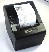 Free shipping 3'' 80mm USB port + Serial ,anto cutter printer thermal printer ,POS Receipt printer