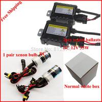Free Shipping 35W HID Xenon Kit Car Headlight Auto lamp mini Ballast  H1 H3 H4 H7 H8 H9 H11 9005 H13 D2S 4300K 5000K 6000K...