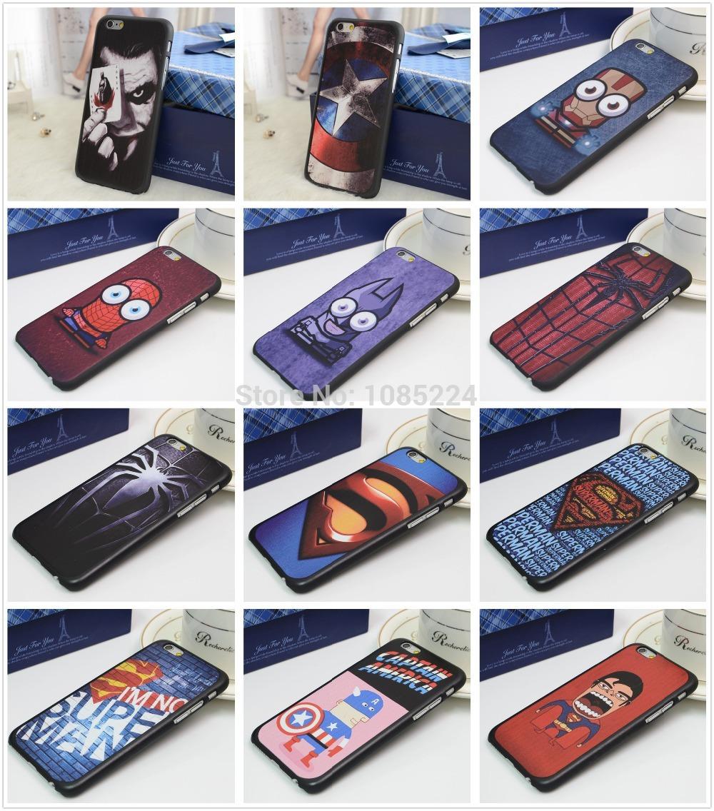 Чехол для для мобильных телефонов E-fashion Marvel iPhone 6 чехол для мобильных телефонов e fashion marvel iphone 6
