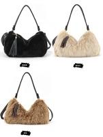 2014 Korean New Fashion Autumn Winter Women's One Shoulder Fur Bags Rassel Handbag Lady's Small Cute Bag Free Shipping A555