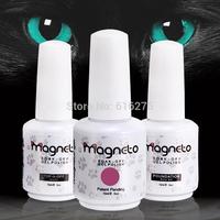 50pcs Uv Tips kit  wholesales Uv Magneto gel nail polish cat's eyes nail gel Pure Colors 1 SET Nail Art